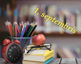 Apsveikums 1. septembrī