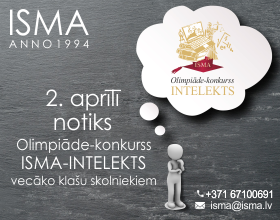 Olimpiāde ISMA-Intelekts informātikā
