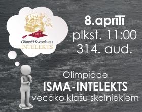 Olimpiāde-konkurss ISMA-Intelekts