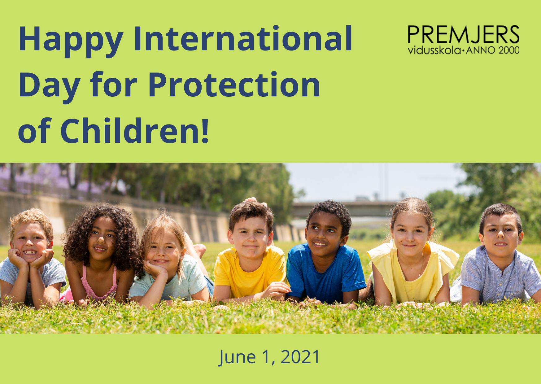 Happy International Day for Protection of Children