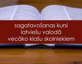 Sagatavošanas kursi latviešu valodā vecāko klašu skolniekiem